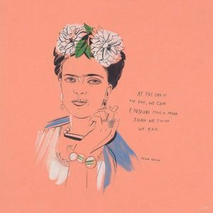 Frida Kahlo has more chill than all us